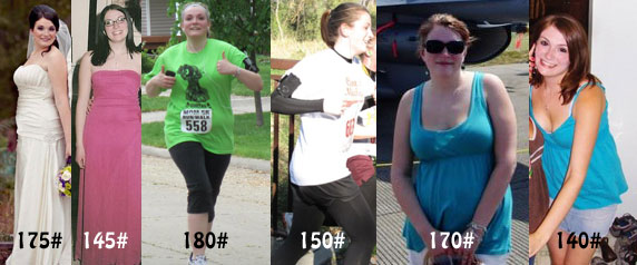 My body looks beautiful in a formal gown, running a 5k, and enjoying summertime no matter what the number on the scale says!