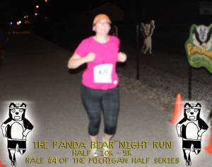 Sometimes you get really blurry, not so flattering race photos... but beggars can't be choosers when they are free race photos...